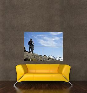 POSTER PRINT PHOTO SPORT MOUNTAIN BIKE DOWNHILL RACING MTB DIRT WHISTLER SEB369