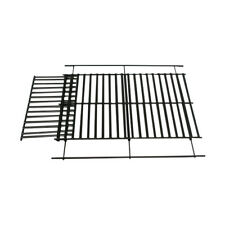UNIVERSAL BBQ REPLACEMENT COOKING GRID GRILL PORCELAIN EXTENDABLE