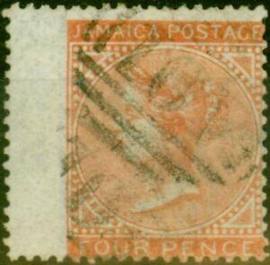 Jamaica 1860 4d Brown & Orange SG4 Fine Used