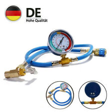R134A Auto Klimaanlage Kältemittel Füllschlauch 1,1m Ladeschlauch Druckmanometer