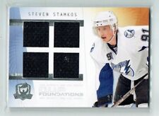 09-10 UD The Cup Foundations  Steven Stamkos  /25  Quad Jersey  All-Star