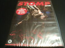 "DVD NEUF ""STOMP - LIVE"" spectacle (Import Neerlandais)"