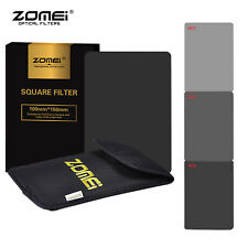 ZOMEI 150*100mm Square Neutral Density Filter Kit ND4+ND2+ND8 for Cokin Z-Pro