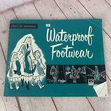 Vintage 1953-54 Waterproof Footwear Catalog From US Rubber Company/US Royal
