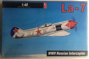 La-7 WW2 Russian Interceptor (1:48 Scale) by Hobby Craft