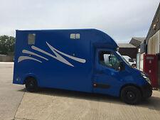Lightweight 3.5 ton horsebox, New Build, Renault Master, Vauxhall Movano