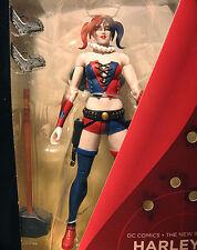 DC: Super-Villains: THE NEW 52 HARLEY QUINN figure - RARE (joker)