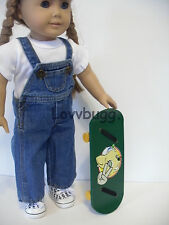 """Wood Skate Board for 18"""" American Girl Dolls Widest Selection!"""