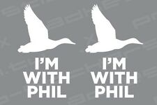 Duck Dynasty Phil Robertson Decal Sticker