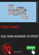 SASS from Beginner to Expert Professional video training course tutorial