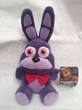 "New Authentic Five Nights At Freddy's BONNIE 7"" Plush Stuffed FNAF USA Seller"