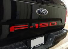 Tailgate Insert Decals Red Letters Stickers for Ford F-150 2018 2019 2020 New