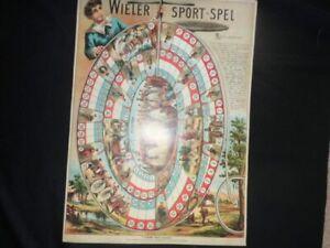 VINTAGE CYCLING GAME DUTCH 1972