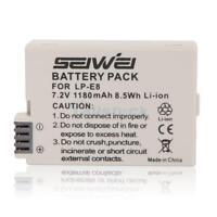 LP-E8 Li-ion Battery Pack for Canon EOS 550D 700D Kiss X5 Rebel T3i T2i