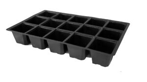 Pack of 10 - That Haus 15-Cell Seed Insert Trays - 100% Recycled Plastic