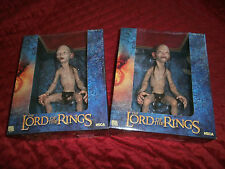 LORD OF THE RINGS LOTR GOLLUM AND SMEAGOL 1/4 SCALE ACTION FIGURES