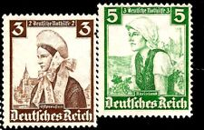 1935 Nazi Germany Women in Traditional Costumes East Prussia Rhineland Aryan Typ