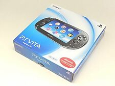 PlayStationVita Wi-Fi Model Crystal Black Limited Edition PCH-1100AB01 Excellent