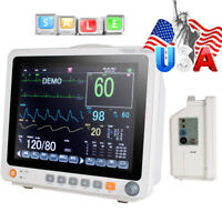 "TouchPortable 12.1"" Touch Patient Monitor Vital Signs ECG NIBP RESP TEMP SPO2 PR"