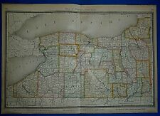 Vintage 1883 Atlas Map ~ Western New York~ Old & Authentic ~ Free S&H