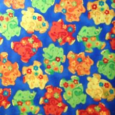 Juvenile Elephants and posy's 2 yards x 40 inches