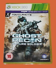 XBOX 360 GAME:  GHOST RECON - FUTURE SOLDER - DVD - VERY GOOD WITH MANUAL