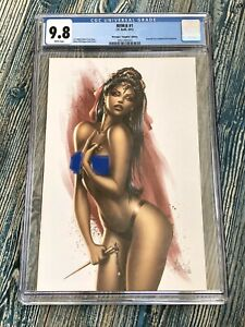 REM:8 #1 CGC Emerald City Comic Сon 2014 Exclusive RARE🔥
