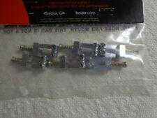 Fender Squier Chrome Saddles, Springs & Screws (6 each)