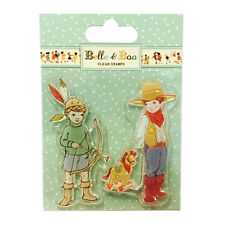 BELLE AND BOO STAMPS - ELLIS AND EASY GREAT FOR CARDS AND CRAFTS