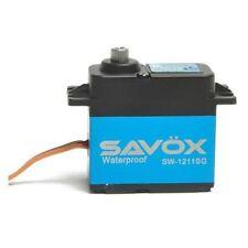 Savox Waterproof High Voltage Digital Servo .08/250 oz-in @ 7.4V, Aluminum Case