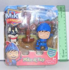 Mike & Yap Mike the Knight Figure Pack Fisher Price New Sealed 2012