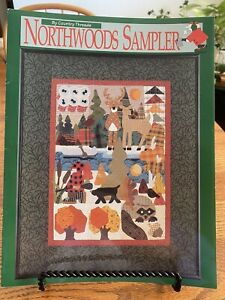 Northwoods Sampler By Country Threads Lonna Nachtigal 1994 Applique Quilting