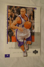 NBA CARD - Upper Deck - Honor Roll Series - Mike Bibby - Sacramento Kings.
