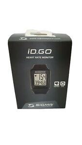 Cardiofrequenzimetro con Fascia Toracica Sigma Sport Egc Heart Rate Chest Sigma