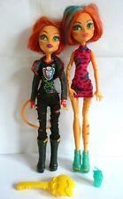 Toralei (original - ish) & Toralei Field Trip Monster High Doll Bundle.