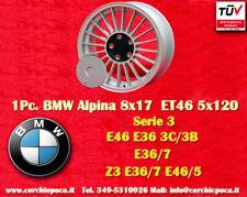 1 Cerchio BMW Alpine Style 8x17 ET46 5x120 3 Z3 3er Wheel Felge Llanta Jante TÜV