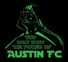 Darth Vader Austin FC shirt Star Wars MLS Soccer Football Texas verde tree TX