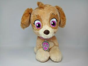 Build A Bear Paw Patrol SKYE Stuffed Plush with Collar BABW