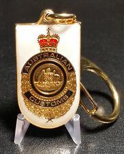 Australian Customs Officer Inspector Key Chain