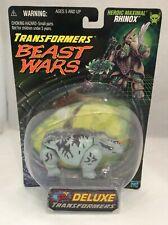 Transformers BEAST WARS 1999 Heroic Maximal RHINOX Fox Kids Deluxe Hasbro