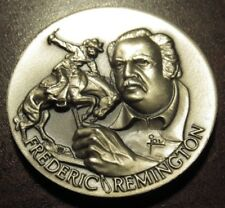 Frederic Remington Longines Sterling Silver Medal - 34.4 grams