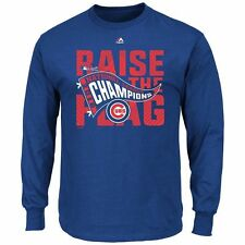 CHICAGO CUBS OFFICIAL 2016 WORLD SERIES CHAMPS MLB T-SHIRT - BRAND NEW WITH TAGS