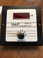 IMC PANEL STYLE TEMPERATURE MONITOR MODEL 756 New
