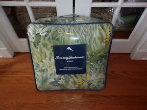NIP Tommy Bahama Cuba Cabana Tropical Queen Comforter Set 3pc