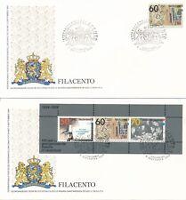 2 Filatelistische Jubilea '82-'84 enveloppen - 41 en 41A - 6 September 1984