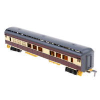 1:87 HO Scale Freight Car Train Railway Carriage Model Compartment Car Toy D