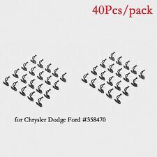 40Pcs Door Panel Clips for Mopar Chrysler Dodge Plymouth Trim Panel Retainers