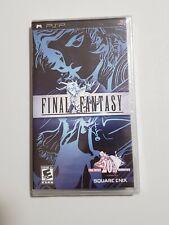 Final Fantasy (Sony PlayStation Portable Psp) 20th Anniversary Black Label New
