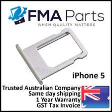 For iPhone 5 Original White Sim Tray Holder Nano Slot Genuine Replacement New
