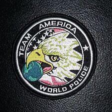 TEAM AMERICA WORLD POLICE SWAT COUNTER TERRORIST VELCRO®HOOK  PATCH